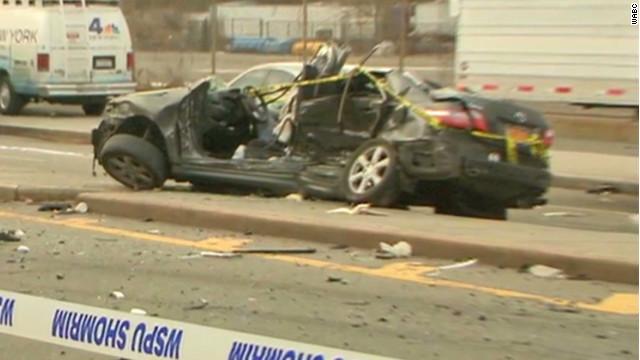 Newyork Car Crash