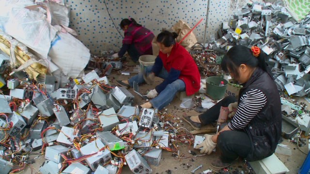 Cnn Co Jp 中国は「世界最大の電子機器の廃棄場」、環境汚染も深刻 1 4