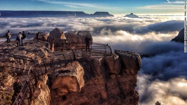 写真特集:逆転層、まるで雲の上の世界