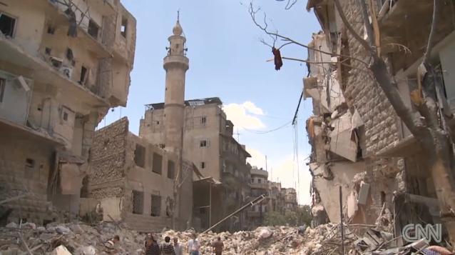 「ここは地獄」、変わり果てたアレッポの街 シリア内戦