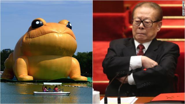 「ヒキガエル」もネット検閲の対象に 中国で続くイタチごっこ