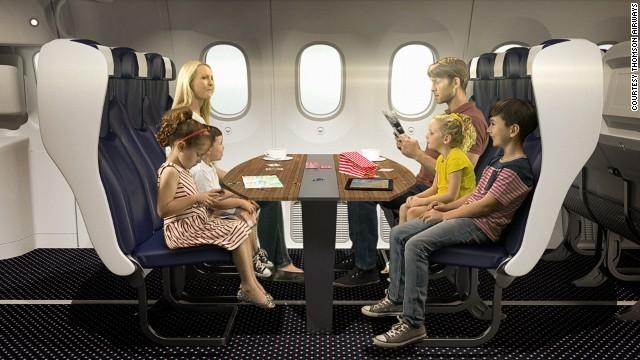 Cnn Co Jp 機内に家族席やカップル席、英航空会社が導入検討