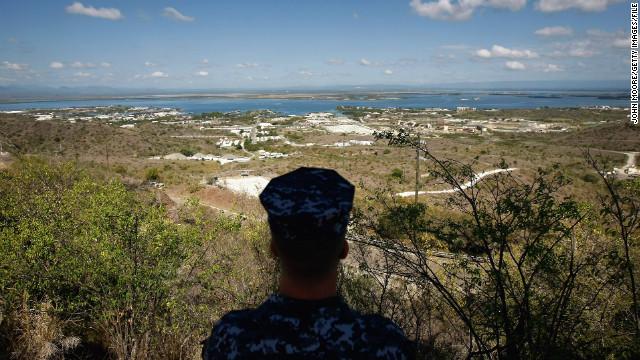グアンタナモ基地の外観。新たに4人の収容者が移送された 関連記事 グア... グアンタナモ基地の