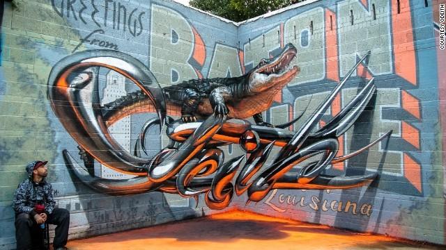 3Dストリートアート