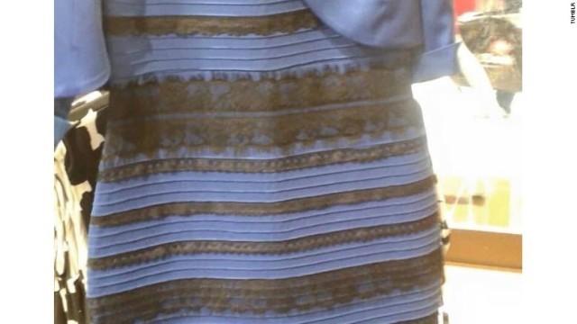 ドレスの色論争に専門家も注目 , (1/2)