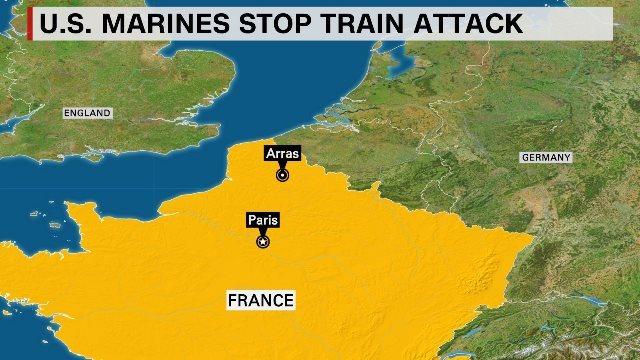 アムステルダム発パリ行きの高速列車内で発砲事件