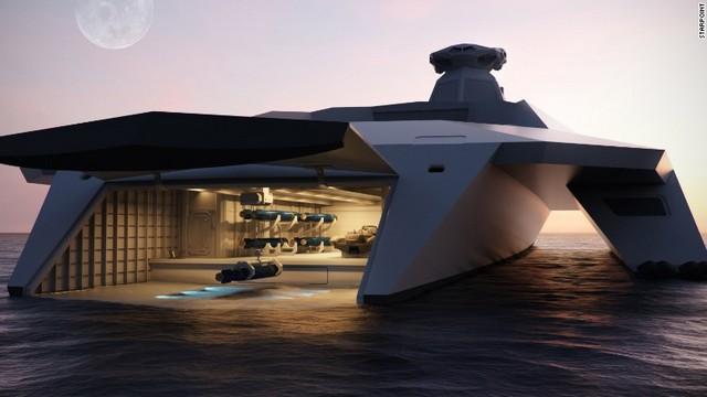 英海軍の未来の軍艦 高速魚雷や電磁レールガンを装備