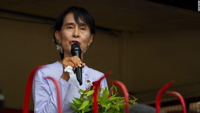 スーチー氏率いる野党・国民民主連盟が優勢との見方が出ている ミャンマー...  ミャンマー総選挙