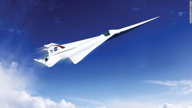 静かな超音速旅客機、米NASAが開発へ
