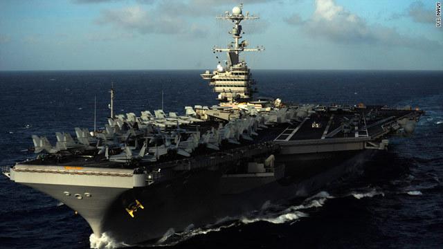 米空母打撃群、南シナ海に展開 周囲に中国艦船 - Tommy's Express ...