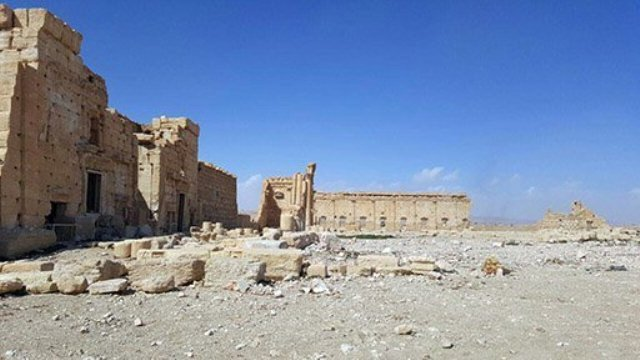 ISISによって破壊されたパルミラの遺跡など=Syrian Ministry of Culture / Directorate-General of Antiquities & Museums