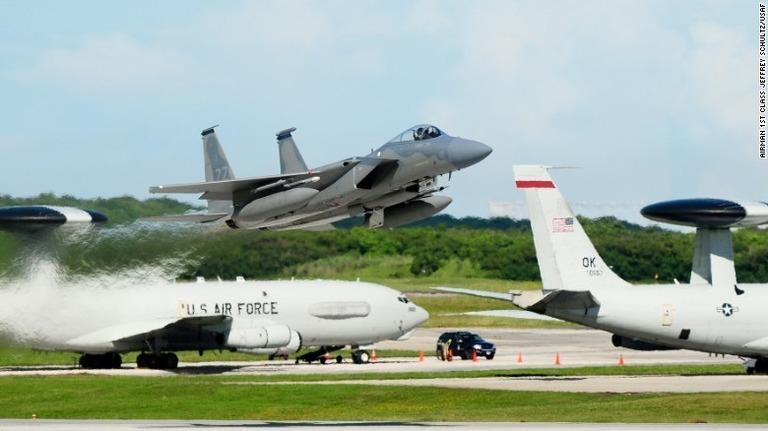 米軍はグアムにアンダーセン空軍...