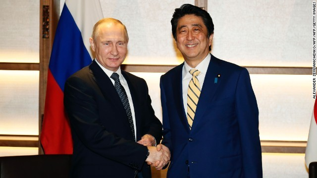 CNN.co.jp : 日ロ首脳、平和条約...