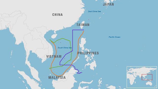 南シナ海では中国をはじめ各国が...