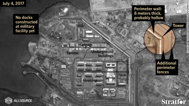 CNN.co.jp : 中国軍のジブチ基地、地下施設も 予想より大規模 - (1/2)