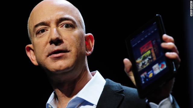CNN.co.jp : ジェフ・ベゾスCEO、アマゾン株1200億円相当を売却