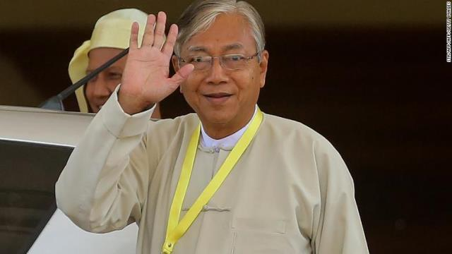CNN.co.jp : ミャンマー大統領、健康上の理由で辞任 スーチー氏側近