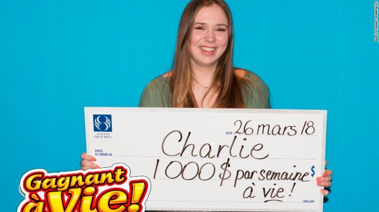 カナダ・ケベック州で宝くじ初購入の18歳女性が当選
