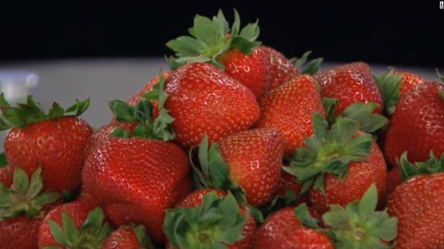 残留農薬が最も多かったのは昨年に続きイチゴだった