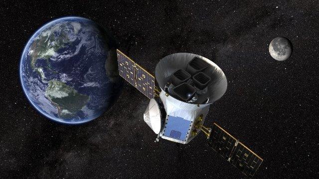 CNN.co.jp : 惑星探査衛星「TESS...