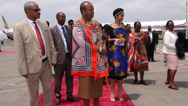 スワジランドの国王ムスワティ3世。国名を「エスワティニ」に変更すると発表