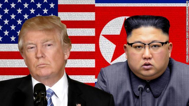 trump kim jong un split 1 トランプ大統領、北朝鮮に対する姿勢を軟化させロケットマン呼ばわりは封印