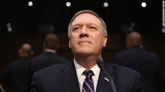 CIA長官だったマイク・ポンペオ氏が26日、国務長官に就任した