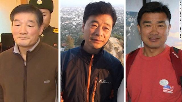 CNN.co.jp : 北拘束の米国人3人...