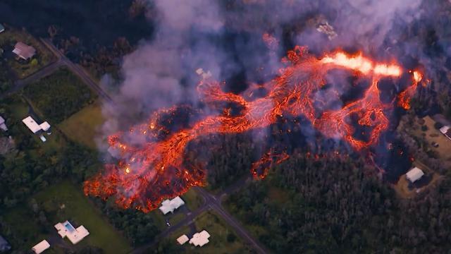 ハワイの火山に爆発的噴火の恐れ
