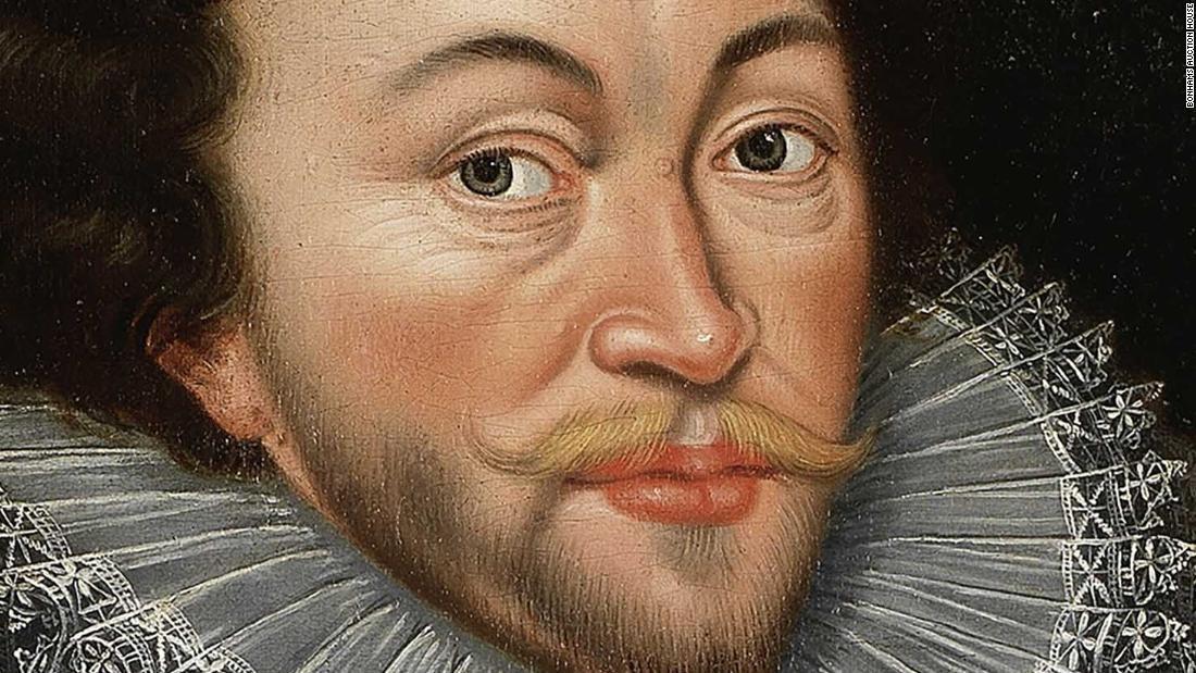 CNN.co.jp : 16世紀の英提督の肖...