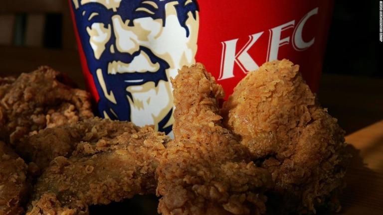 KFCがチキンに代わるベジタリアン向けの食材の開発に取り組んでいる
