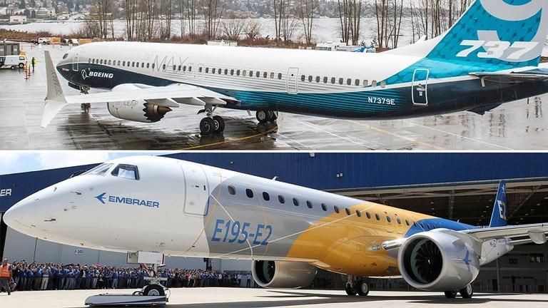 【航空】米ボーイング、ブラジルの小型航空機製造大手「エンブラエル」の商用機部門を買収 ->画像>6枚