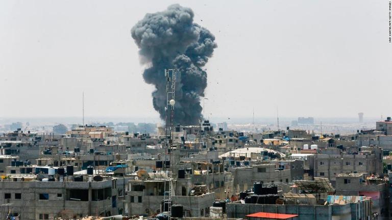 CNN.co.jp : イスラエルとガザは「戦争の瀬戸際」、国連が自制呼びかけ ...