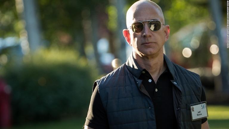 CNN.co.jp : アマゾンCEOの総資産、史上最高の17兆円に