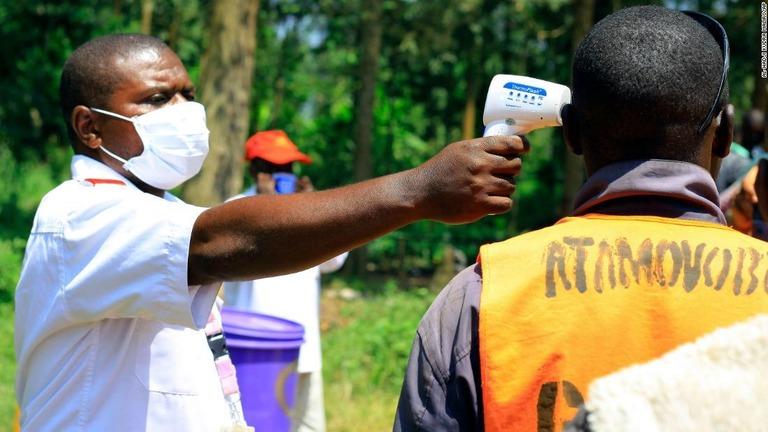 コンゴ エボラ出血熱