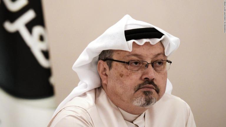 サウジアラビア人記者のジャマル...