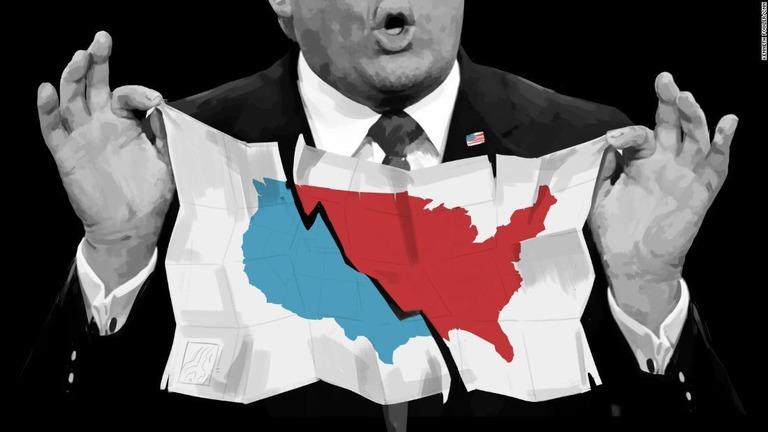 米中間選挙の結果、7つの注目ポイントとは/Kenneth Fowler/CNN