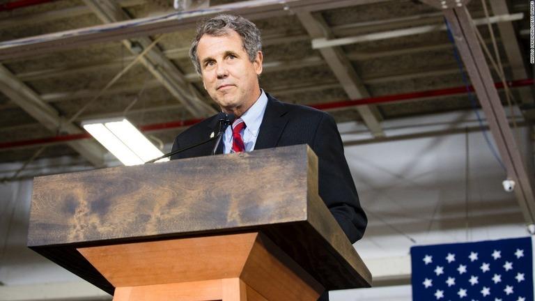 オハイオ州の上院選は、民主党の現職ブラウン氏が制した/Angelo Merendino/Getty Images