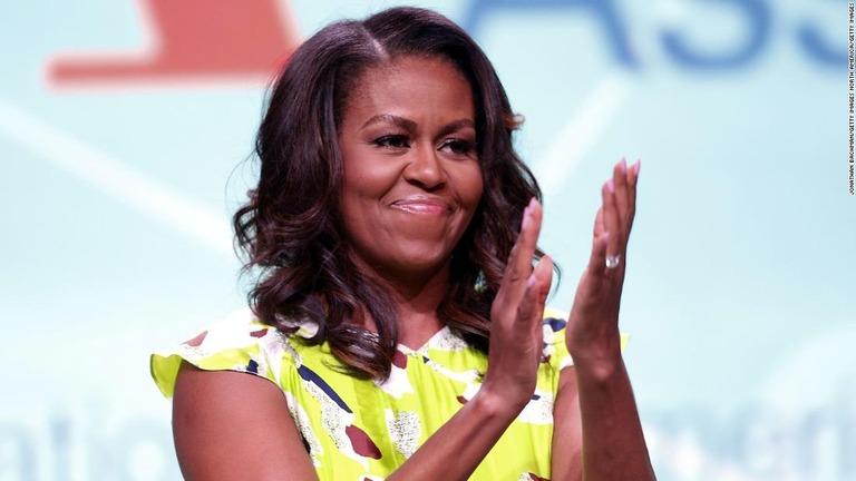 ミシェル・オバマ前大統領夫人/Jonathan Bachman/Getty Images North America/Getty Images