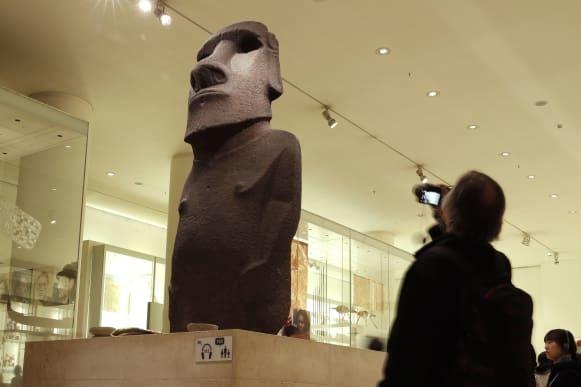 CNN.co.jp : イースター島、大英博物館にモアイ像の返還求める