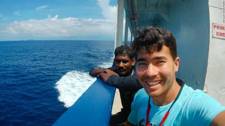 CNN.co.jp : 孤立部族に殺害された米宣教師、遺体の収容作業が難航 インド