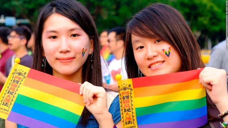 CNN.co.jp : 同性婚合法化は住民投票で否決、「アジア初」実現せず 台湾