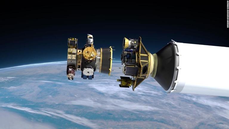 スペースX、衛星64基を一度に打ち上げ ブースターも再利用
