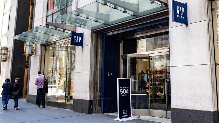 ギャップがニューヨーク5番街の店舗を閉店する/Michael Brochstein/SOPA Images/LightRocket/Getty Images