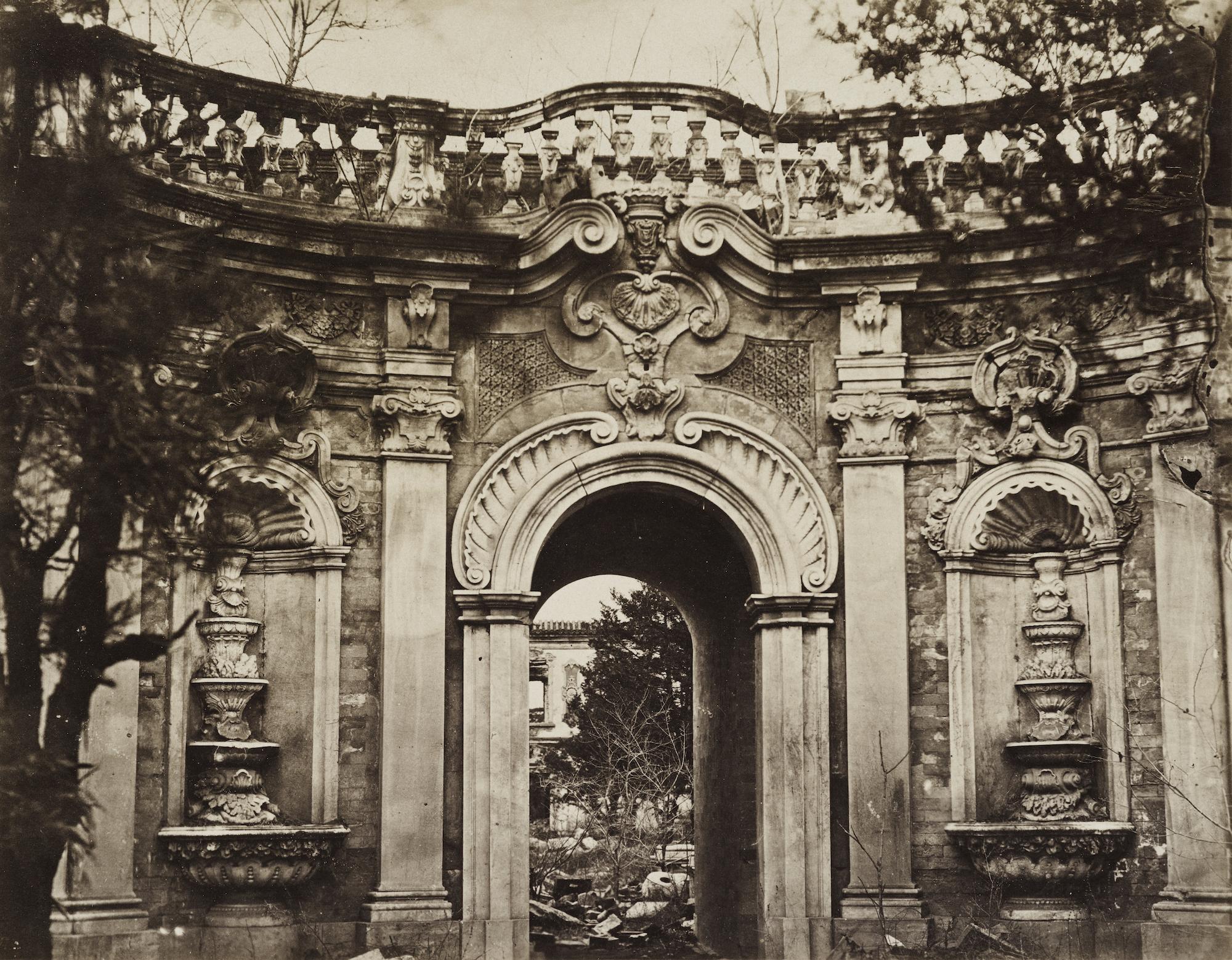 トマス・チャイルドによる円明園の写真=1870年代/The Loewentheil Collection of China Photography