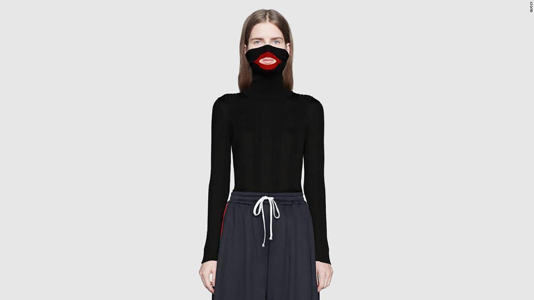 innovative design 1d5ed 43d0c CNN.co.jp : グッチが黒いセーターめぐり謝罪、黒人蔑視の批判受け