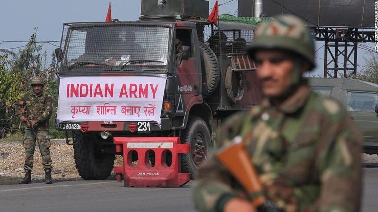 インド、カシミールのパキスタン支配地域を空爆 テロ情報受け