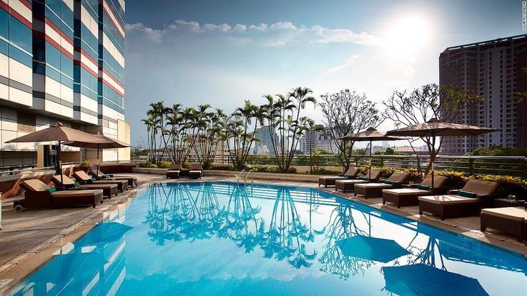 金正恩氏が宿泊しているとみられるベトナムのホテル、メリア・ハノイ
