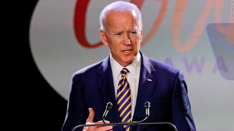 ジョー・バイデン前副大統領。バイデン氏から不適切な接触があったとする2人目の女性が名乗り出た/Frank Franklin II/AP