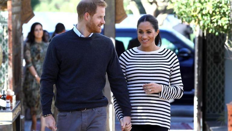 ヘンリー王子とメーガン妃。第一子誕生の詳細について公表しない意向を表明した/Tim P. Whitby//Getty Images